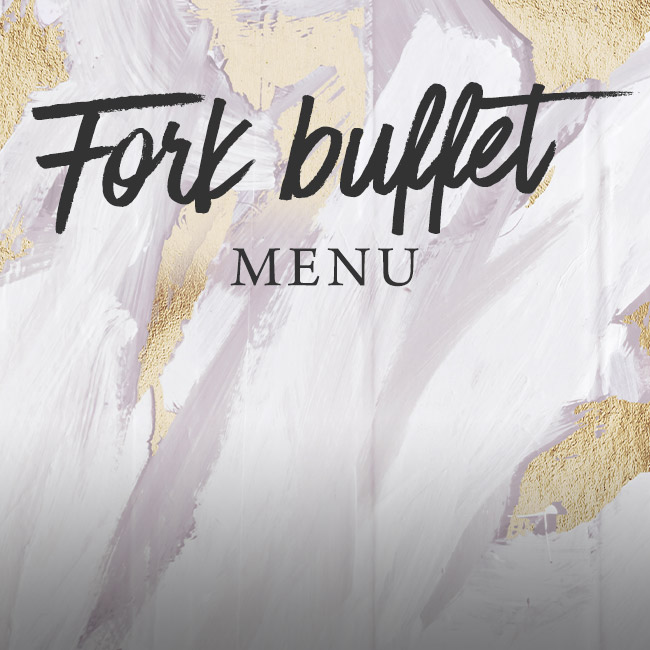 Fork buffet menu at The Fox