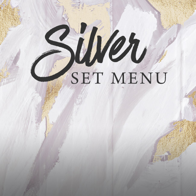Silver set menu at The Fox