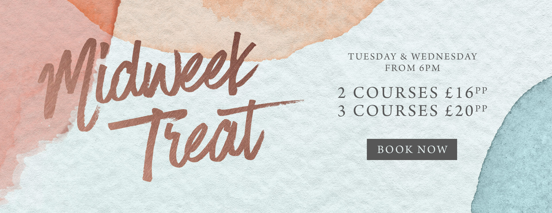 Midweek treat at The Fox - Book now